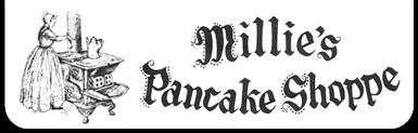 Millies Pancake Shoppe Logo